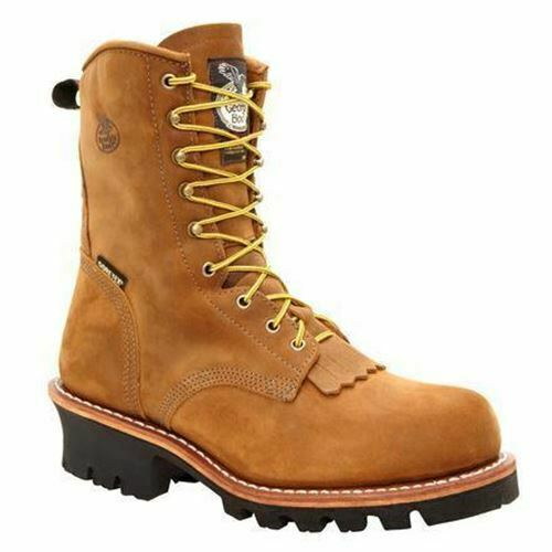 Georgia Men's Steel Toe GORE-TEX® Steel Toe Work Boots Brown G9382