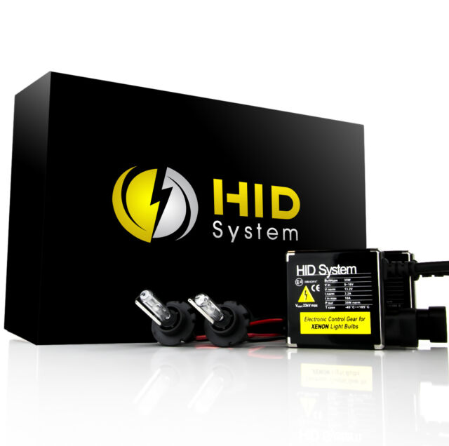 HID System 35w HID Kit 9005 9006 H1 H3 H4 H7 H10 H11 H13 5202 6000K 5000K Xenon