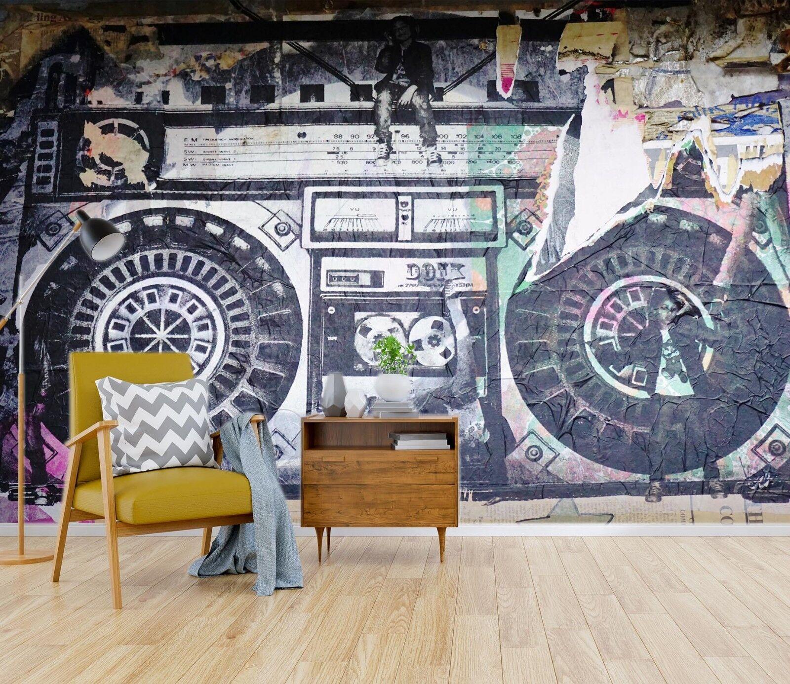 3D Kunst Radio 872 Tapete Wandgemälde Tapete Tapeten Bild Familie Familie Familie DE Sidney | Online-Exportgeschäft  |  a91ca4