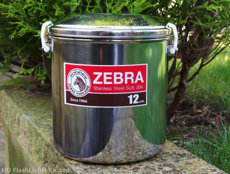 12CM Edelstahl Zebra Billy Kochtopf Dose Kochtopf Billy Busch Überleben Camping 819d6e