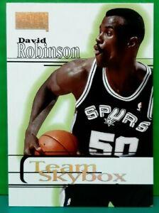 David Robinson subset card Team Skybox 1997-98 Skybox Premium #243