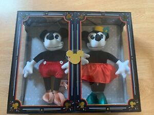 Mickey-Mouse-and-Minnie-Mouse-Collectible-Vintage-Plush-Dolls