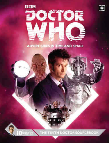 THE TENTH DOCTOR SOURCEBOOK - DR WHO ADVENTURES IN TIME AND SPACE - CUBICLE 7