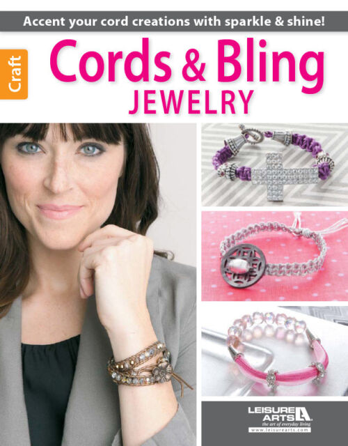 CORDS&BLING JEWELRY-Beads/Beaded-Macrame-Braiding-Knots-Paracord-Craft Idea Book