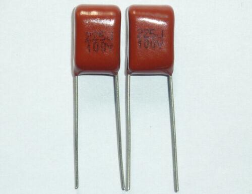 5 un 100V 225 J 2.2uf 2200nf 2200000pf P7.5 CL21 Cbb Metal Film Capacitor