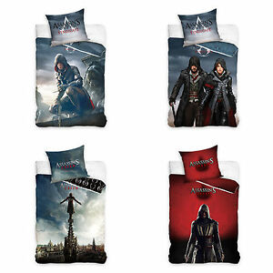 Assassin-039-s-Creed-Syndicate-Ubisoft-Bettwaesche-Bed-Linen
