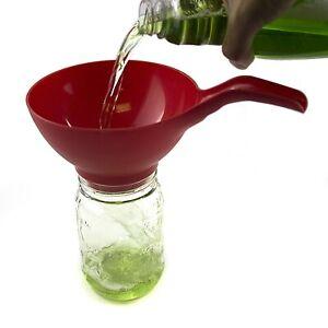 3-034-WIDE-MOUTH-PLASTIC-CANNING-FUNNEL-Preserving-Jam-Kitchen-Mason-Jar-Preserves