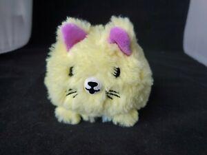 Pikmi Pops Surprise Flips Yellow Pink Cat Kitty Kitten Stuffed Animal Toy/Plush