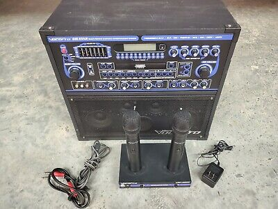 VOCOPRO GIGSTAR Portable DVD/CD 100w Karaoke Machine ...