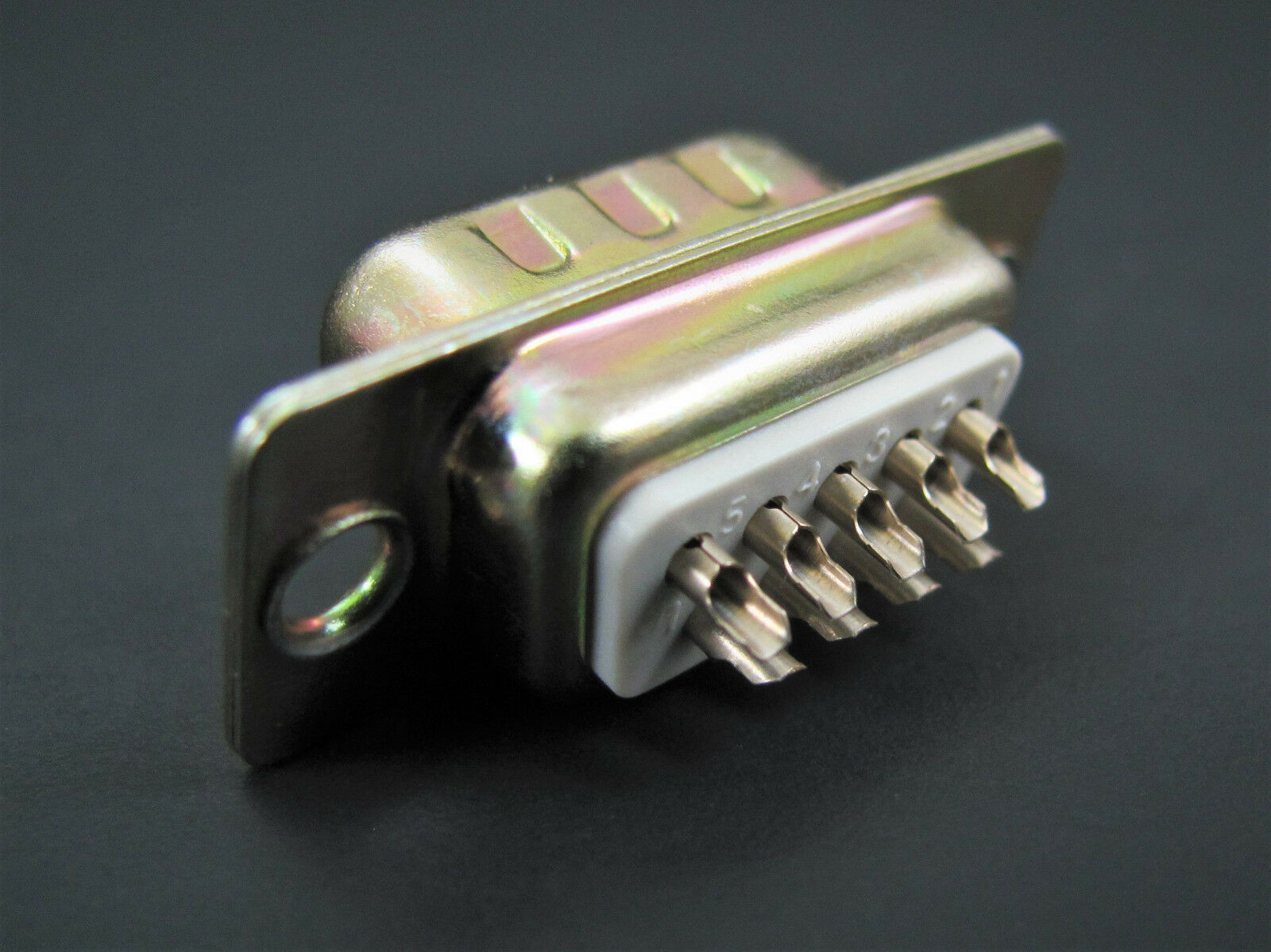 Solder Cup Termination 10x Pan Pacific DS9P 9-Pin Male D-Sub Connector