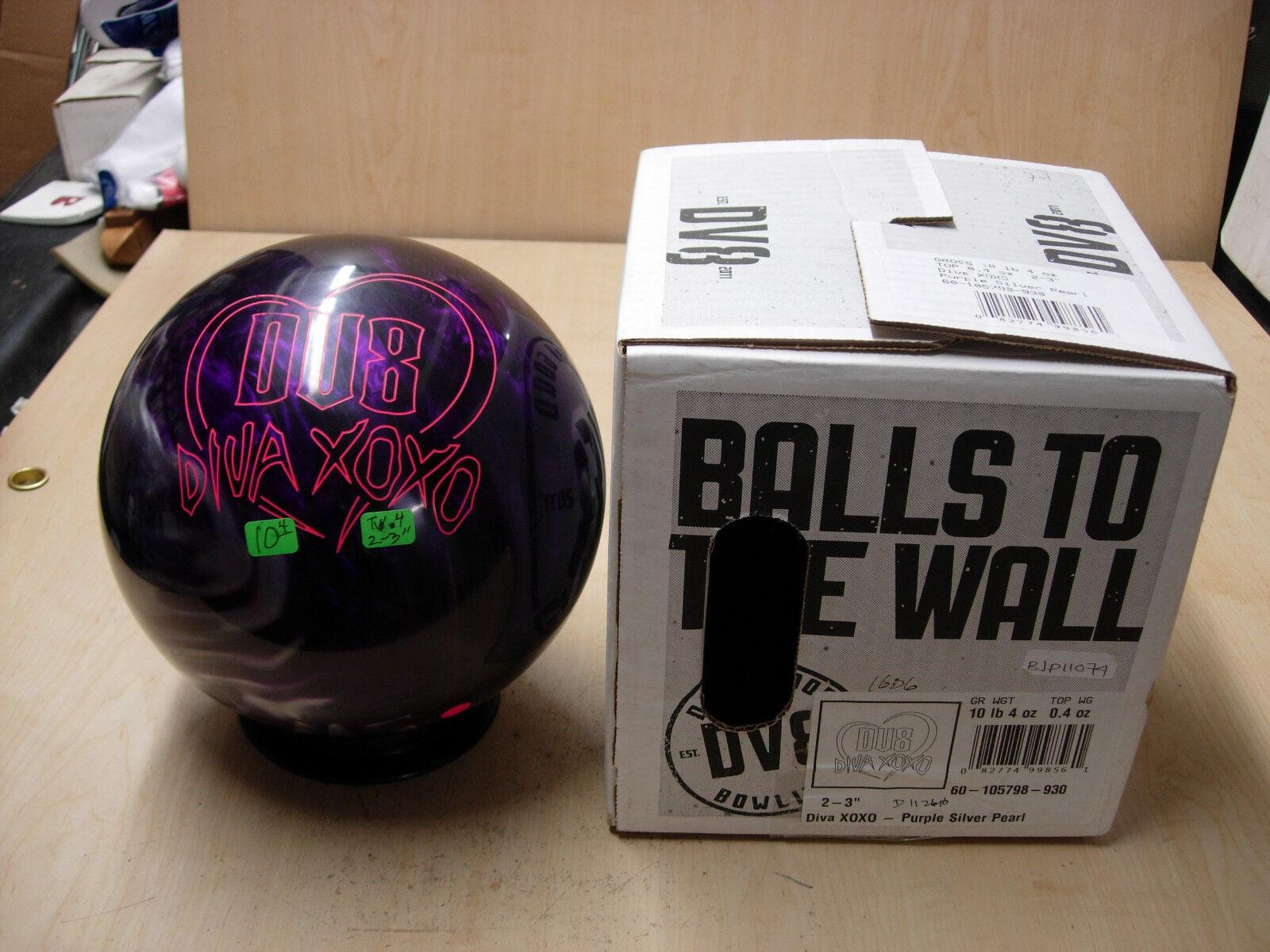 = 10Former Display WITH Original Box DV8 DIVA XOXO Bowling Ball
