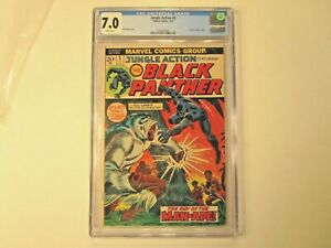 1973-JUNGLE-ACTION-5-GRADED-BY-CGC-AS-7-0-1ST-BLACK-PANTHER-IN-TITLE