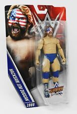 2015 WWE WWF Mattel Hacksaw Jim Duggan Wrestling Figure MIP Summerslam 89