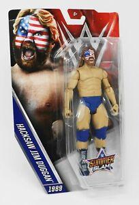 WWE-SUMMER-SLAM-1989-dans-Hacksaw-Jim-Duggan-Figure-DTF84-New-amp-Sealed