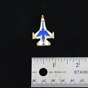 US-Air-Force-Thunderbirds-F-16-Fighting-Falcon-Bottom-View-Hat-Pin