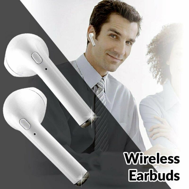 i9s TWS Twin Mini Bluetooth Earbuds with MIC - compatible