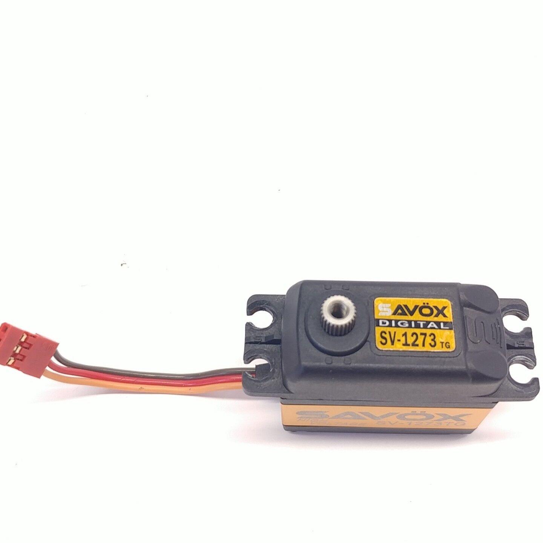 Savox SV-1273TG Digital  Ultra Speed  Titanium Gear Servo  High Voltage