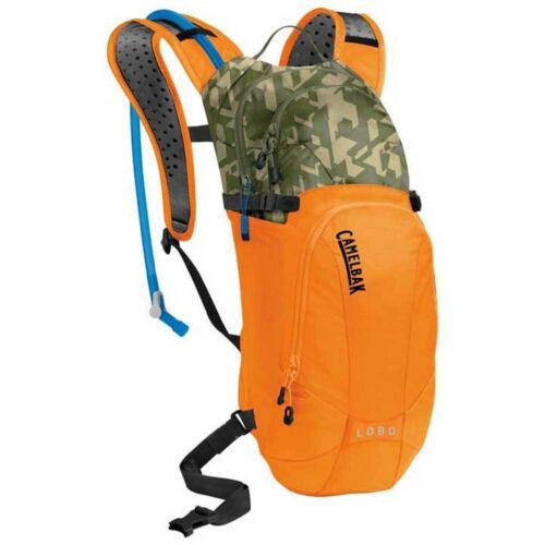Camelbak Lobo  3L//100oz Hydration Backpack Pack Orange//Camelflage