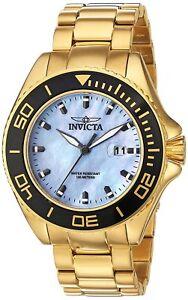 Invicta-23071-Men-039-s-Pro-Diver-48mm-Platinum-Dial-Watch
