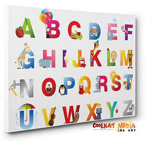 Image Is Loading Canvas Wall Art Print Children 039 S Nursery