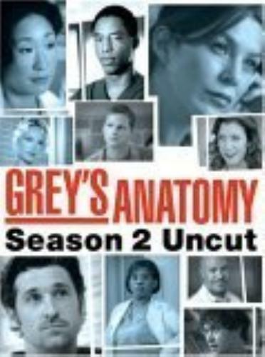 1 of 1 - Greys Anatomy: The Complete Second Seaso DVD