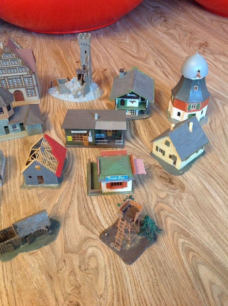 Bundle, railway buildings, Railway Buildings, Station, Town House, Castle, 15 pieces