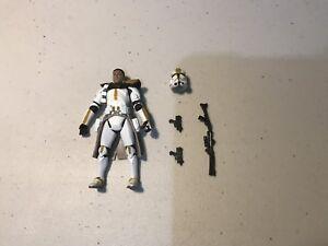 "Star Wars CLONE COMMANDER Trooper polit solider action Figure 3.75/"" AS4"