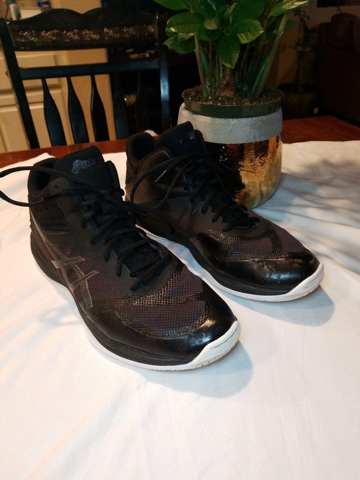 Asics NETBURNER BALLISTIC FF MT Black Men Volleyball shoes Size 14 1051A003-001