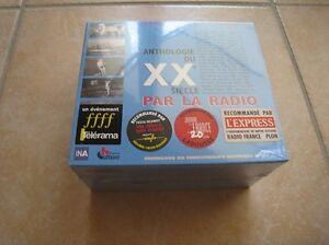 32162-ANTHOLOGIE-DU-20EME-SIECLE-PAR-LA-RADIO-COMPILATION-CD-BOX-6CD-NEUF