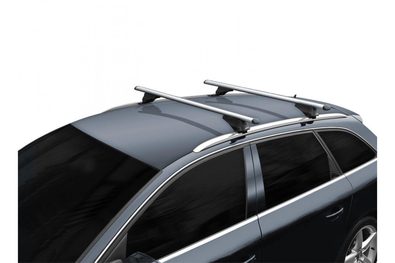 MPE 135cm Lockable Aluminium Car Roof Rack Rail Bars to fit Ford Galaxy 95-10