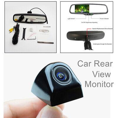 "Anti-glare 4.3"" Auto Display Rear View Mirror Monitor Night Vision Park Review"