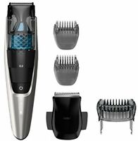 Men's Beard Trimmer, Hair Shaver Vacuum Cutterlength Settings Steel Baldes on sale