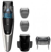 Men's Beard Trimmer, Hair Shaver Vacuum Cutterlength Settings Steel Baldes