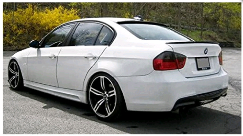Bling up your E90 - E90 Roof spoilers