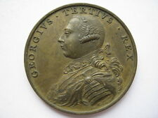1760 George III Accession medal, 41mm by Pingo. Eimer 683.