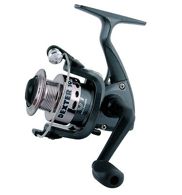 ANGELROLLE ROBINSON FROST FD 101 SPINNROLLE EISROLLE FRONTBREMSE REEL FORELLEN