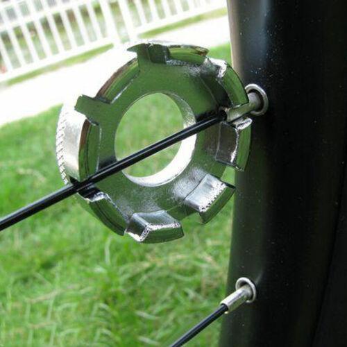 Bicycle Bike 8 Way Spoke Nipple Key Wheel Rim Wrench New Repair Tool U6Q2