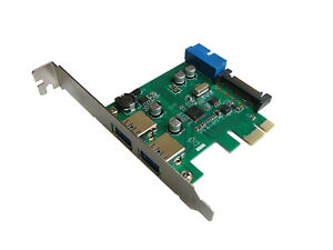 Pcie USB 3.0 (USB3 Superspeed) - 2+2 Ports / Chipset nec - Connector 19 Pin