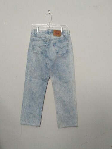Hommes Ourlée Levi's 501 étiquette Inv Mesurée Délavé Usa 31x32 Jeans 29x27 TwBqSfx