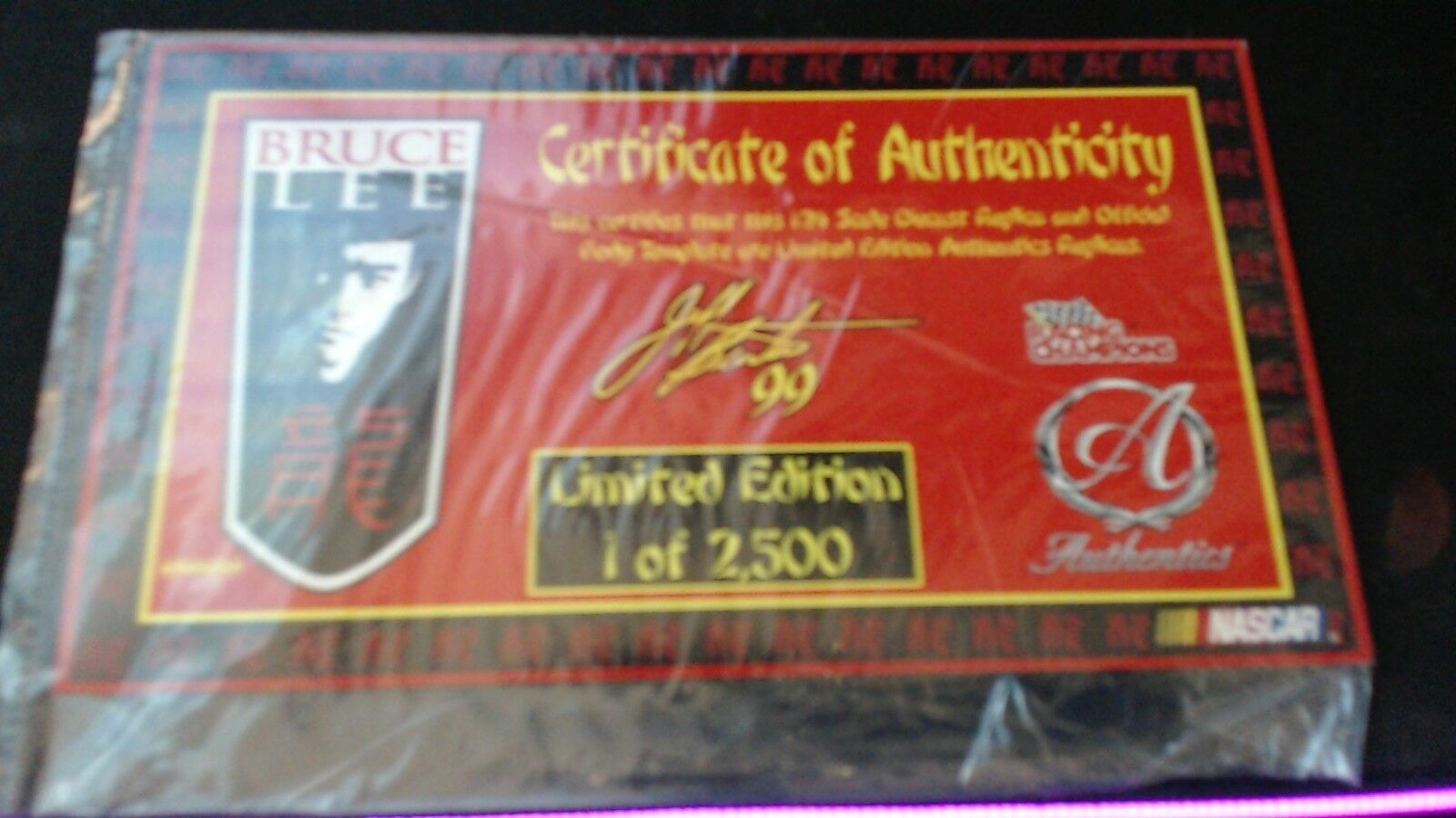 Racing Racing Racing Champions Authentics Jeff Burton Bruce Lee Ford Taurus 28f371