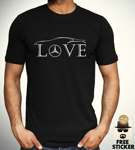 Mercedes-Benz-Love-T-shirt-Car-Racer-Novelty-Tee-Gift-F1-AMG-New-Top-Men-S-3XL