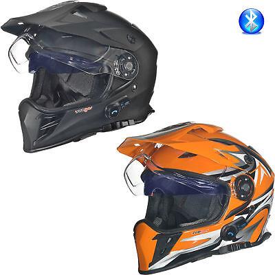 Gr/ö/ße:S RX-962 Crosshelm Quad Cross Enduro Motocross Offroad Helm rueger Farbe:Schwarz V//RCK 55-56