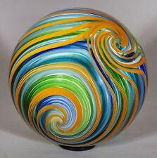 "Wald marbles handmade aventurine Lutz glass QuadraSphere marble 2.07"""