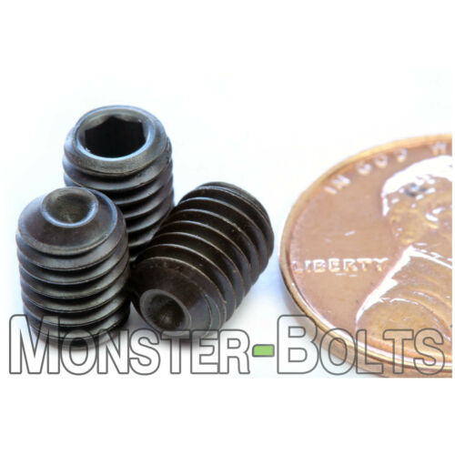 Class 14.9 Steel Black Oxide Qty 10 Allen CUP Point Set Screws M6 x 8mm