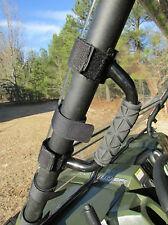 Polaris Ranger RZR UTV Heavy Duty Steel GRAB HANDLES Universal Mount Black QTY-2