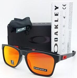 NEW Oakley Catalyst sunglasses Black Prizm Ruby 9272-25 GENUINE red ... 0ef07504b6