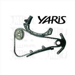 Set-Kette-Vertrieb-Toyota-Yaris-1-0-16V-48-Kw-50-Kw-1SZFE-Kein-Variator