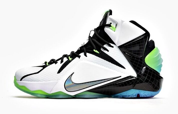 outlet store 7729c 76d15 AUTHENTIC NIKE LEBRON XII AS ALL STAR EDITION 742549-190