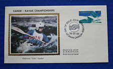 "Canada (833) 1979 Canoe-Kayak World Championships Colorano ""Silk"" FDC"