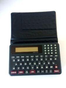 Image Is Loading Berlitz Translator Model 3818 7 Languages Currency Conversion